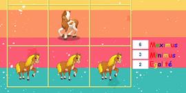 chevaux morpion