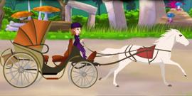 promenade en caleche avec la princesse sofia