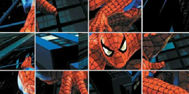 spiderman puzzle glissant