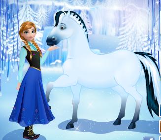 Ana s occupe de son cheval jeux de chevaux gratuits sur - Jeux de dora cheval ...