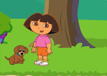 Dora Dresse Son Chien