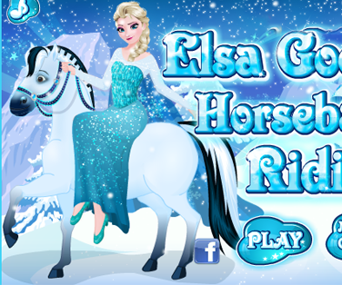 Elsa Fait de L`equitation