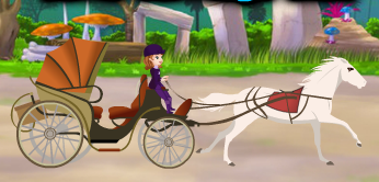 Promenade En Calèche Avec La Princesse Sofia